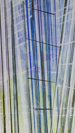 Windows on the World I, Acrylics on Board