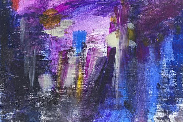 Sunrise, Oil on Canvas