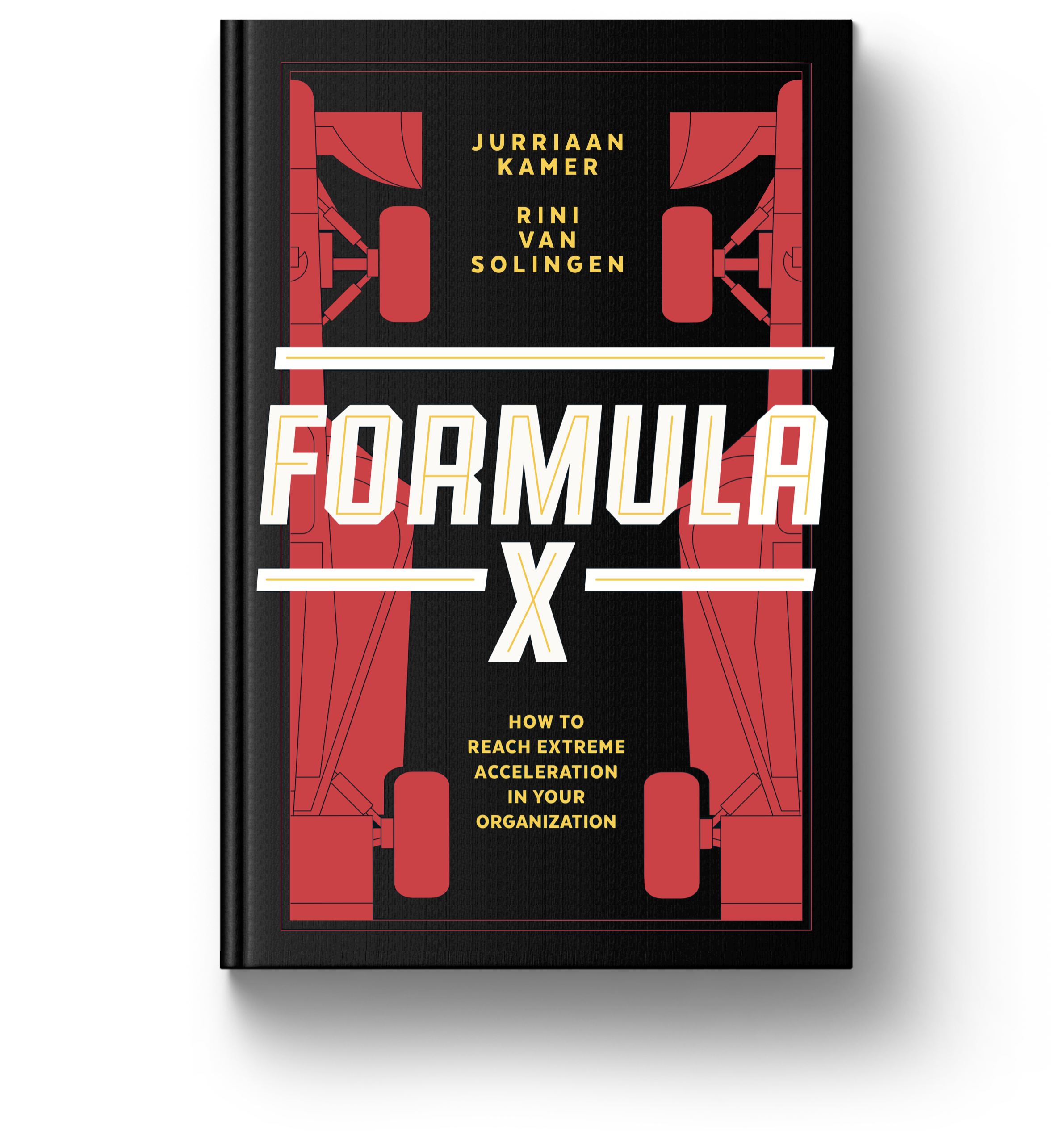 Formula X - Formula X is a business fable about speed, leadership and organizational change.Read more about the book or order now