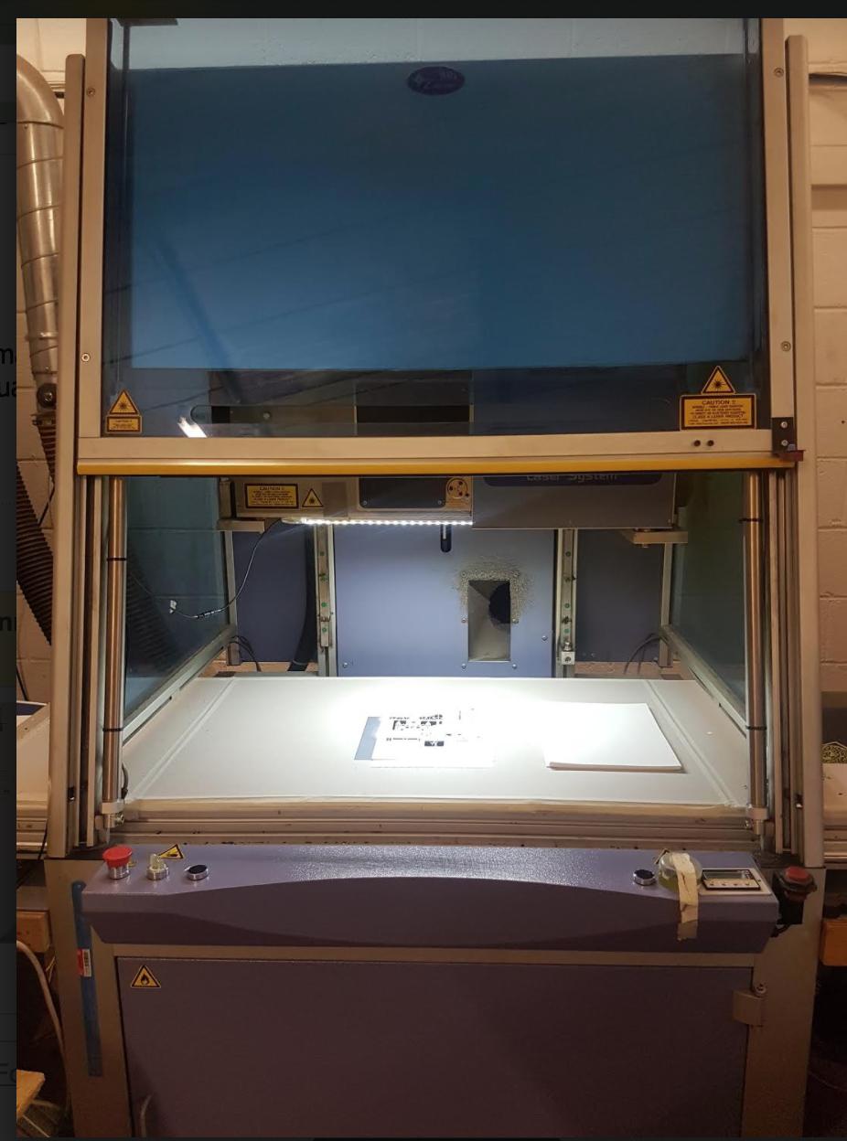Laser-cutting machine