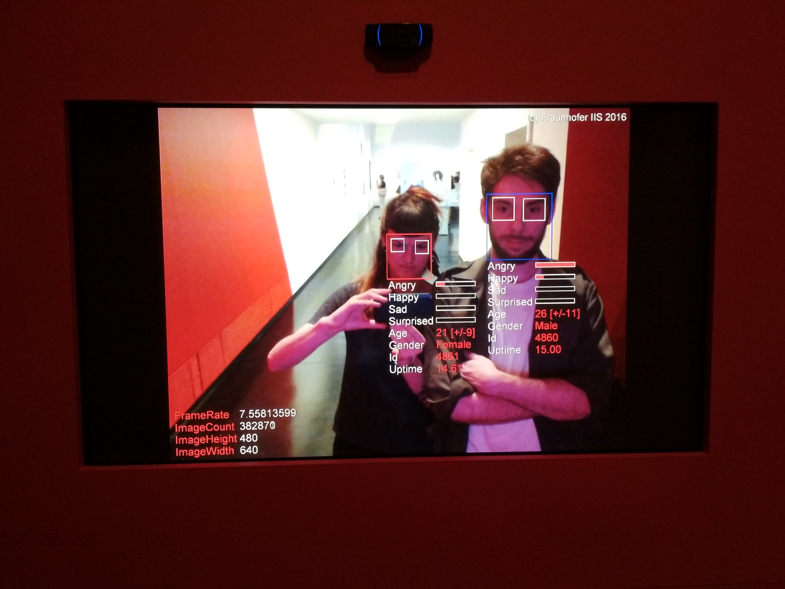 Facial recognition system- Nicole Scheller
