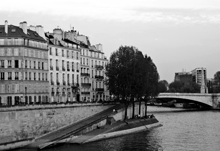 On the Seine - Paris