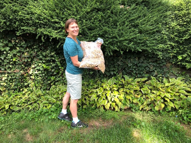 MIT students are enjoying Shady Lane Granola! Delivered 120 pounds this week! -