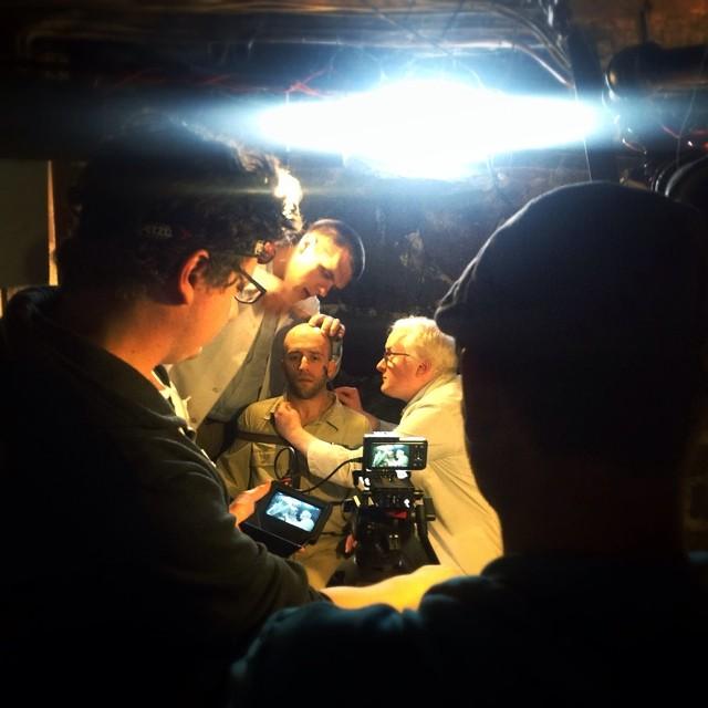 Music Video Shoot  Director: Paul Villanova