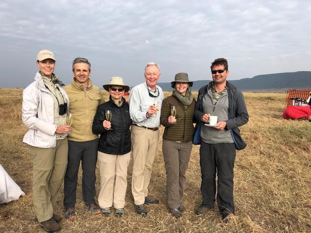 The Felton Family on Safari.