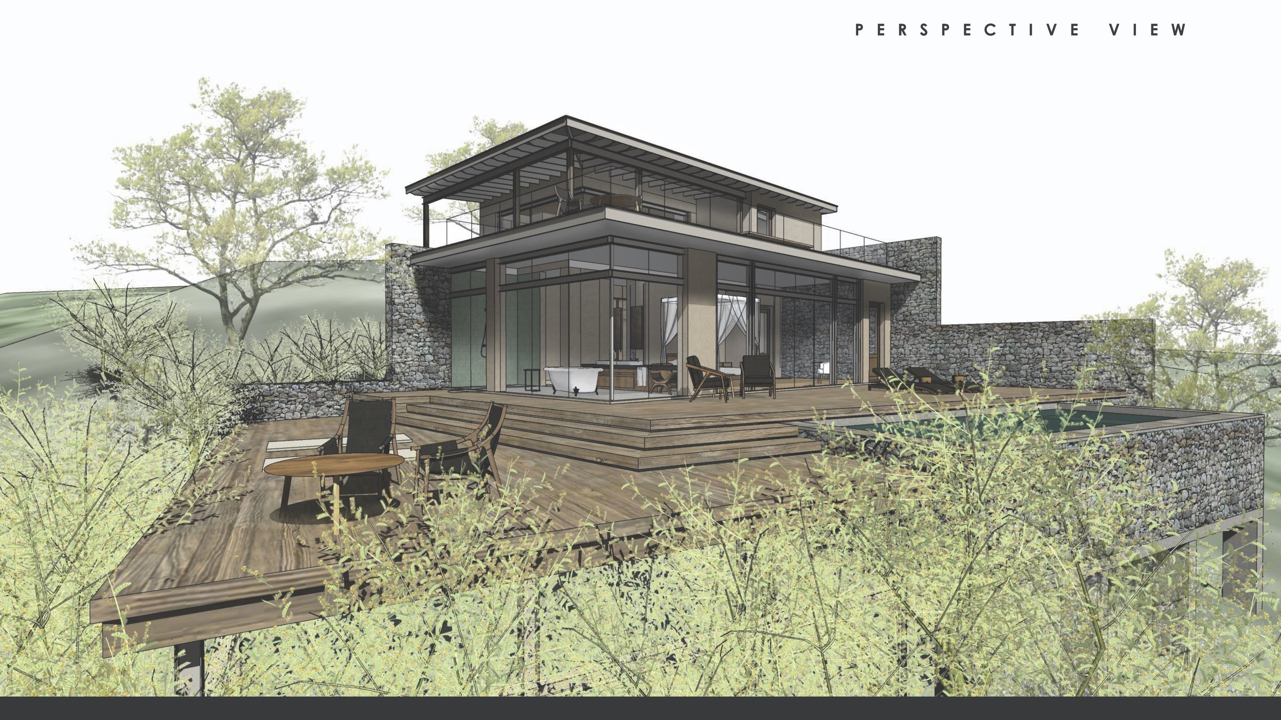 Rendering of Hillside Lodge which opens in June