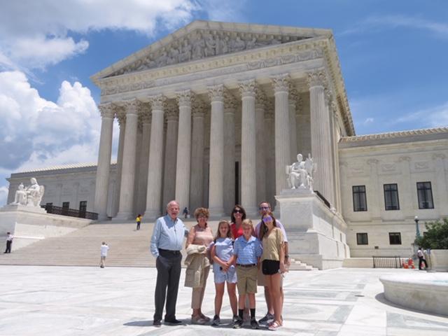 The Roberson Family in Washington, DC