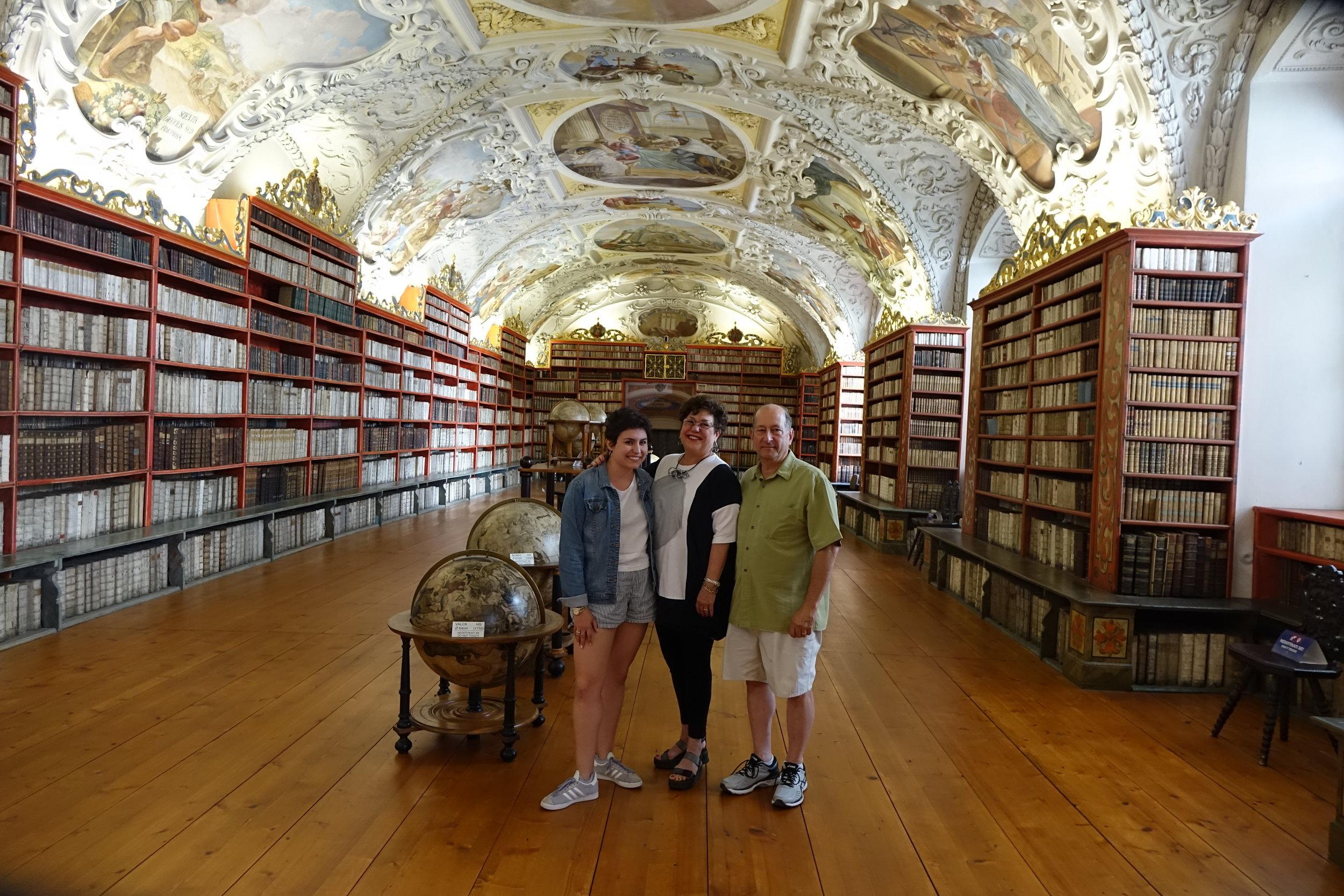 The Almans in Prague.