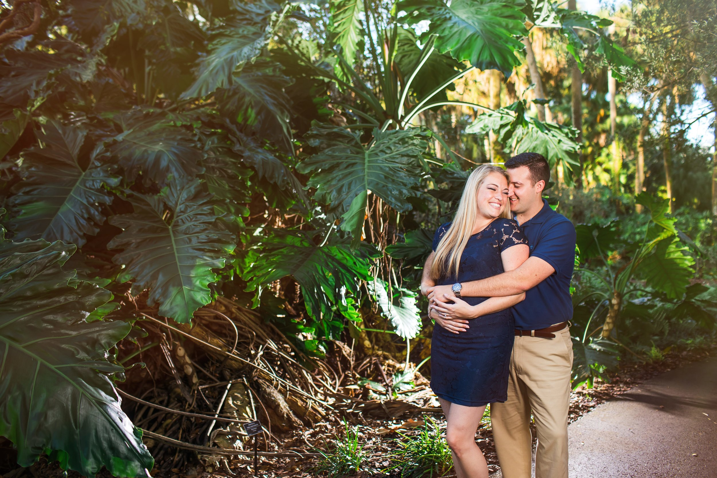 Bok Tower Gardens Engagement Session