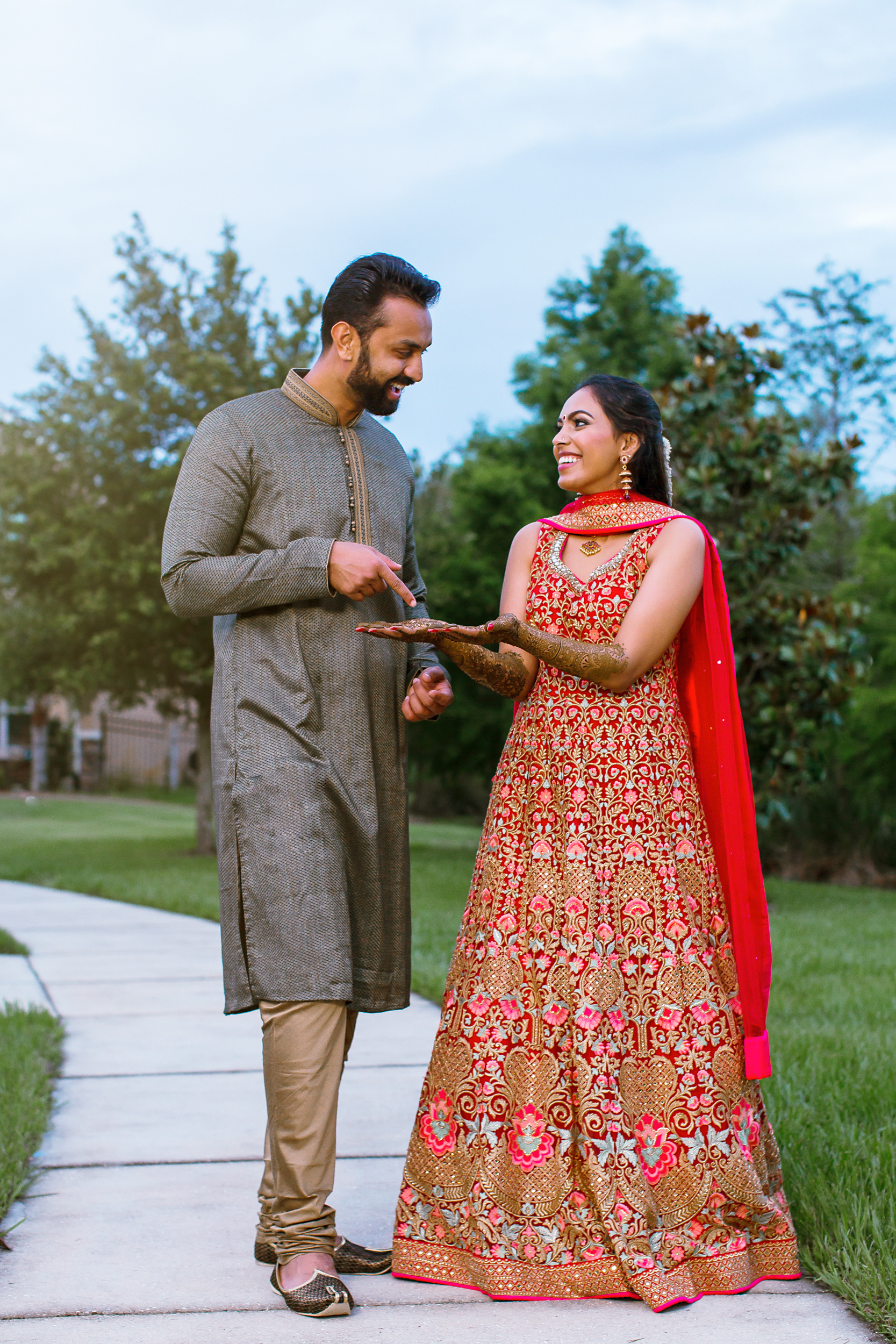 Orlando Indian wedding photography