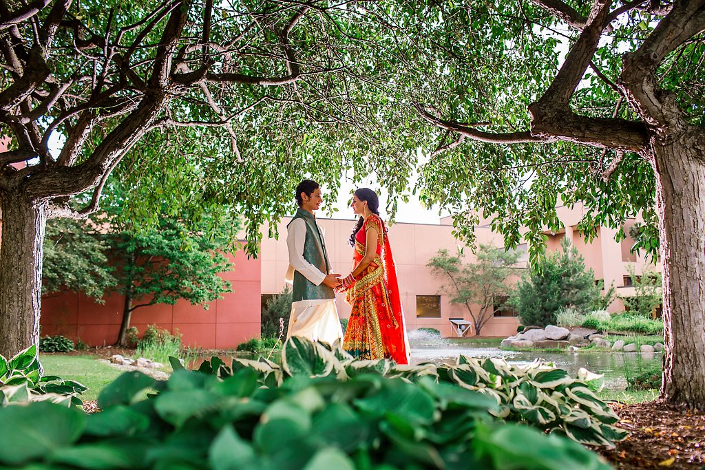 romantic Indian Engagement Session