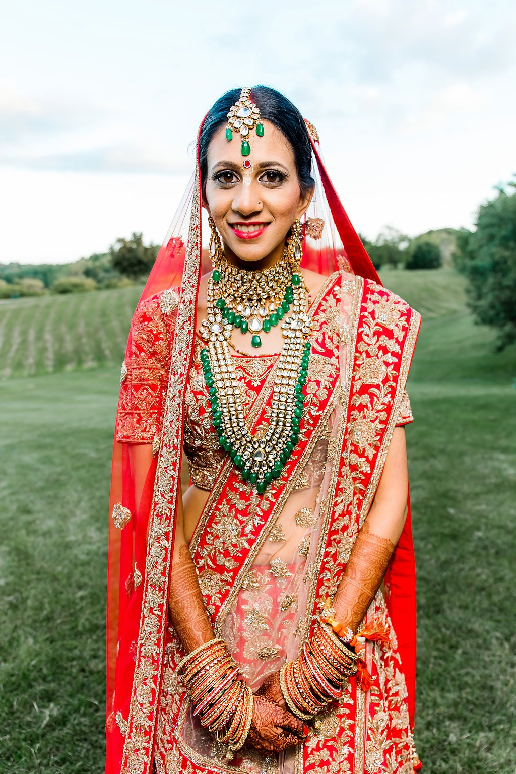 Stunning indian bride