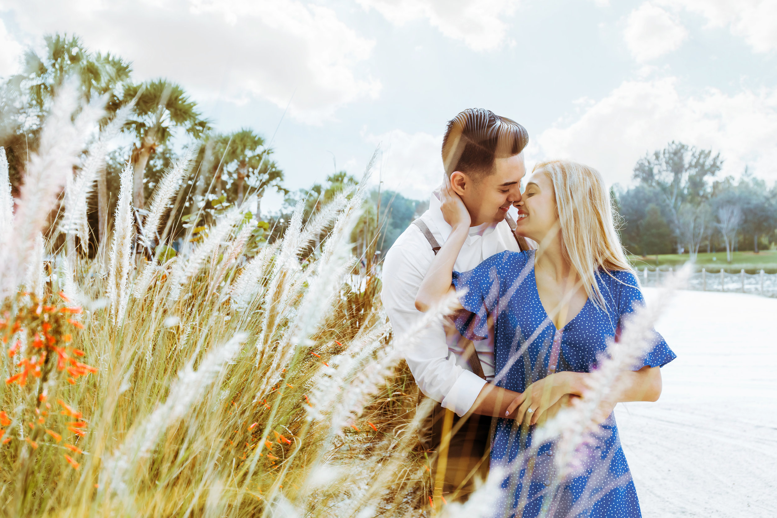 Disney's Boardwalk Engagement Session, Orlando Wedding Photography
