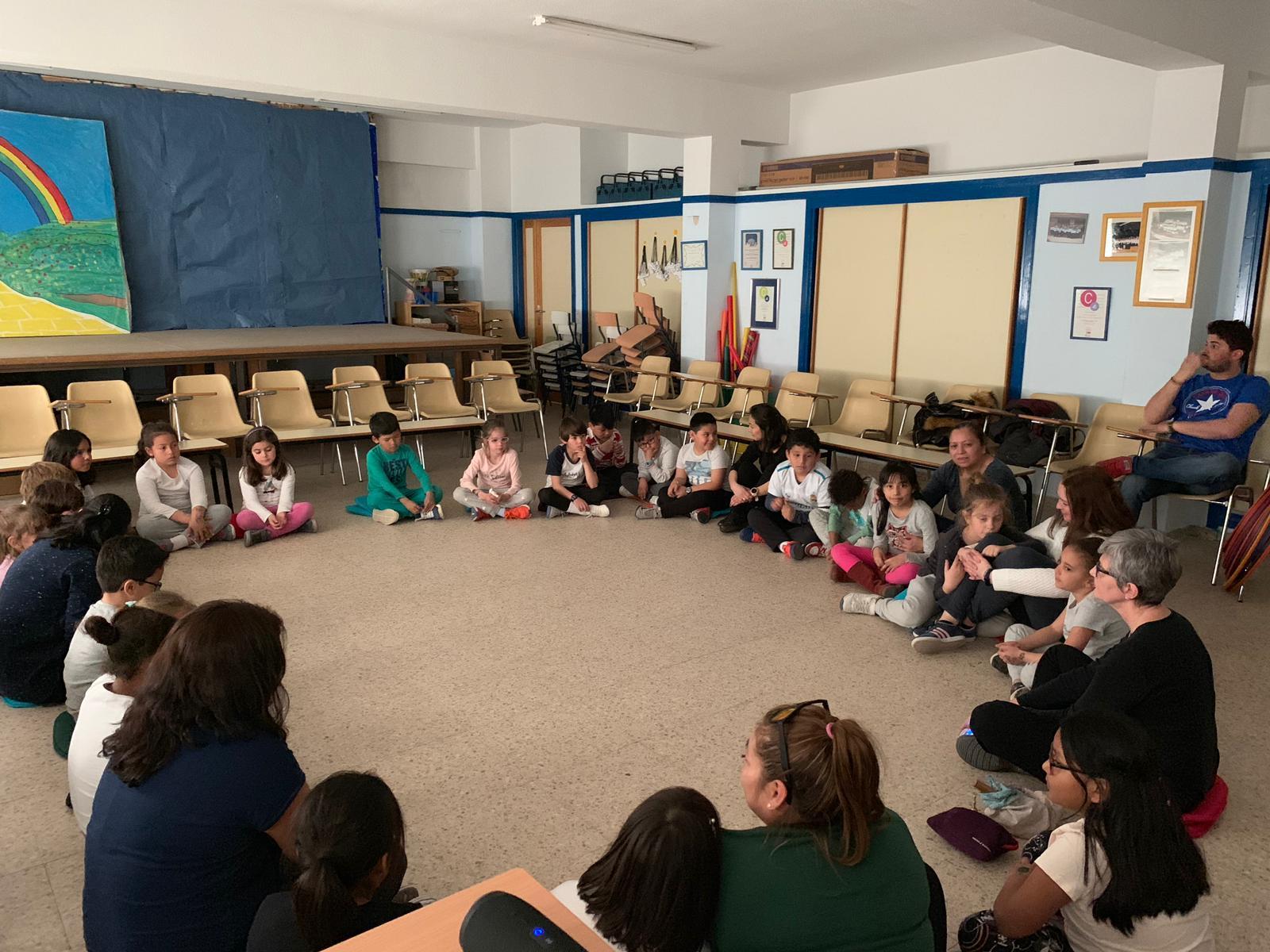 Taller de mindfullness con las familias de nuestros alumnos