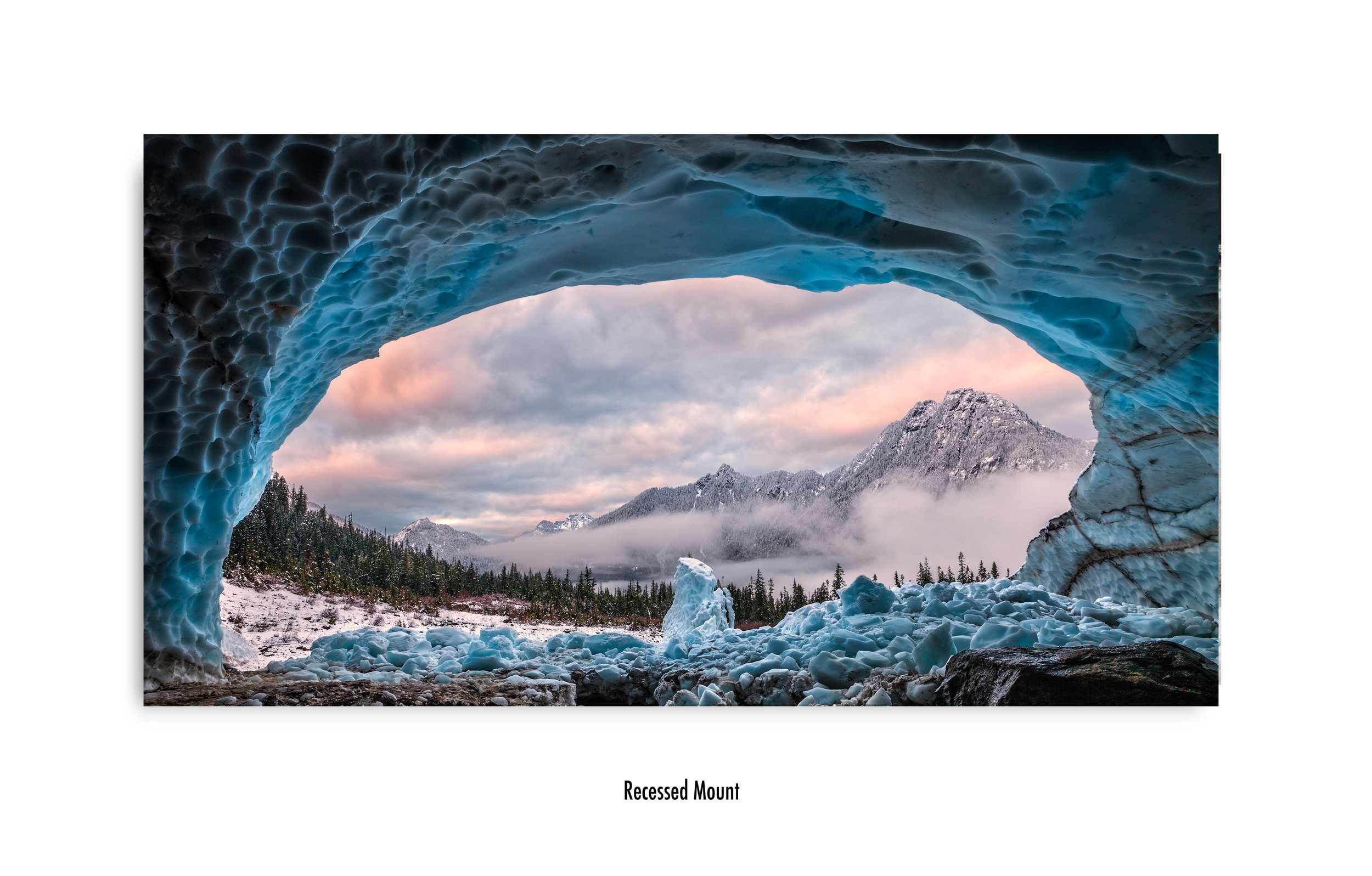 Ice Cave With A View in no frame