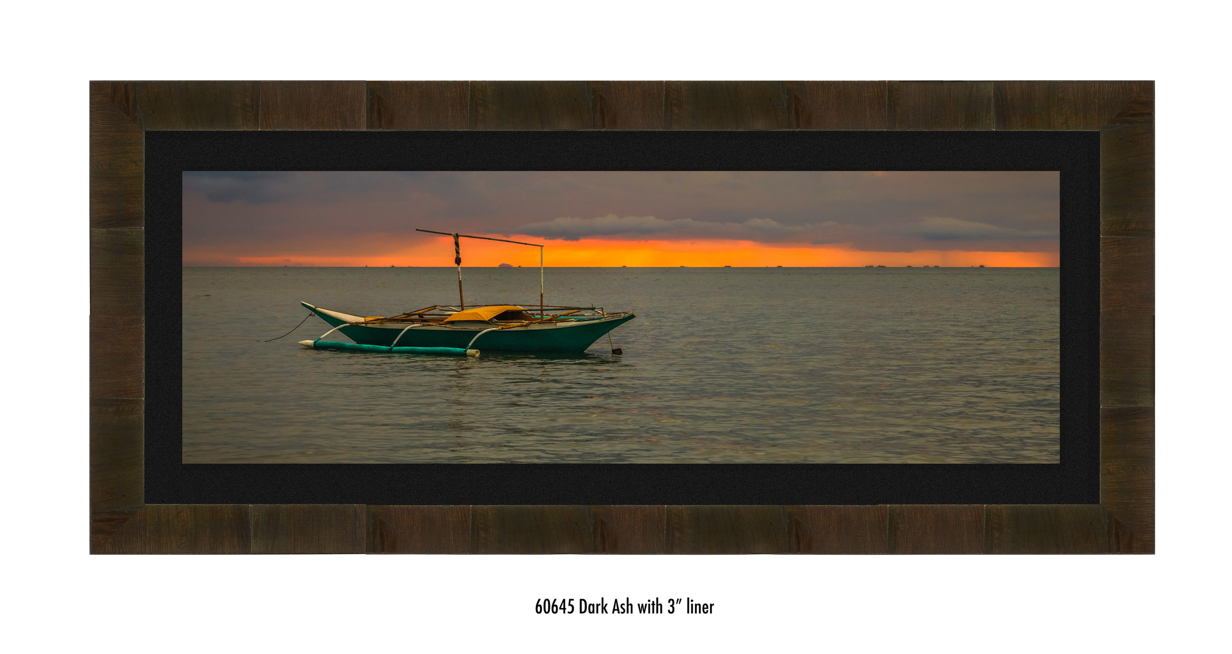 At The Edge of Dusk, maritime fine art photograph captured in the Philippines by Jason Matias in Bellevue, WA