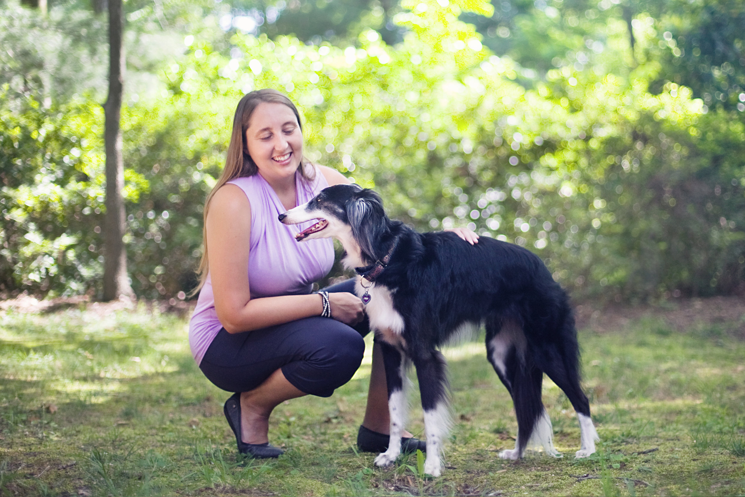 Positive dog training Greenville SC -- a healthy relationship creates magic