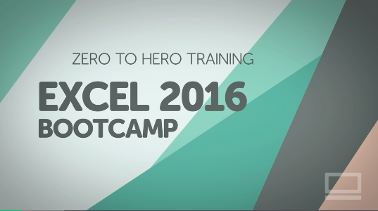 1h 54m    Microsoft Excel 2016 Bootcamp - Zero to Hero Training    I always thought that Excel was only for accountants. So wrong. I use Excel every single day and this crash course has been a life savor to help me navigate the program.