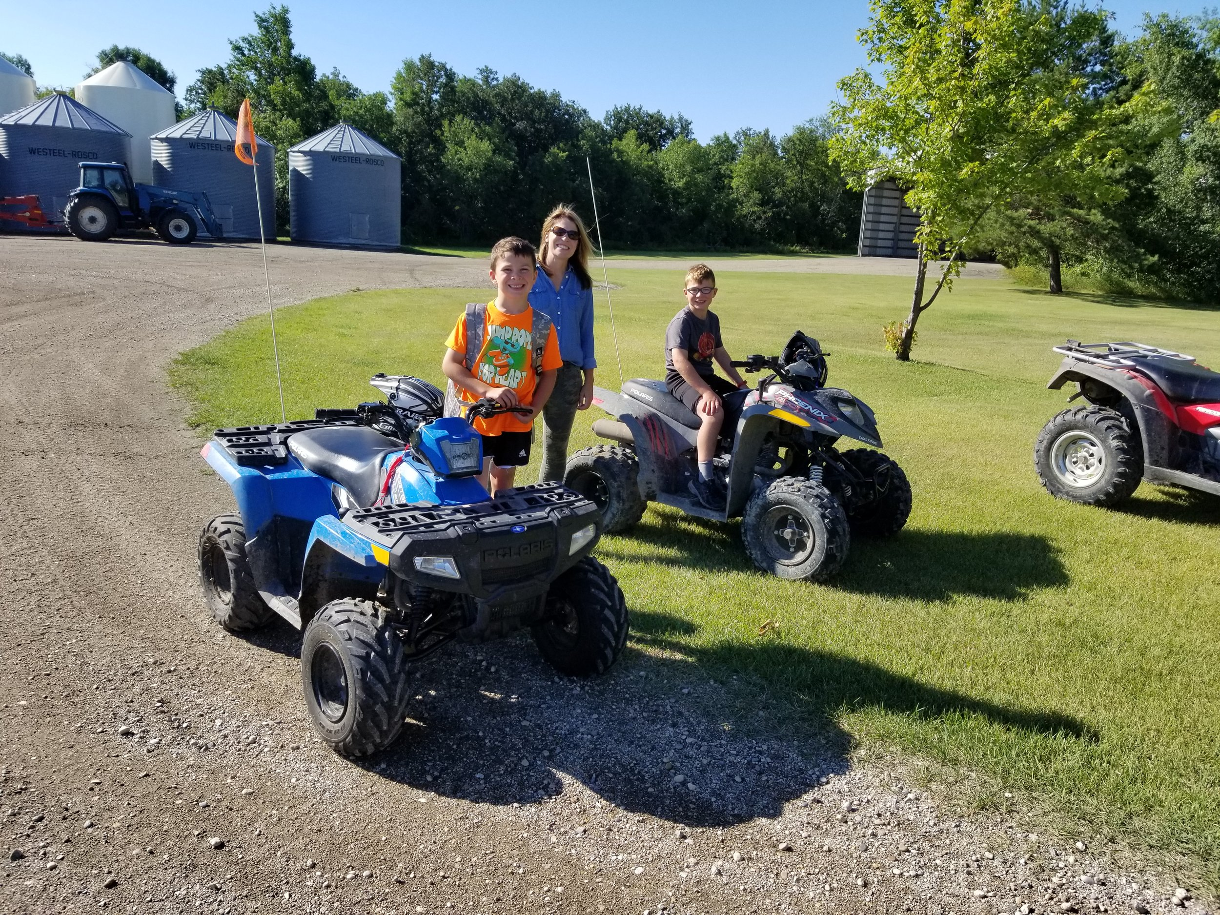 5 - Being able to see everything and go everywhere on the quads