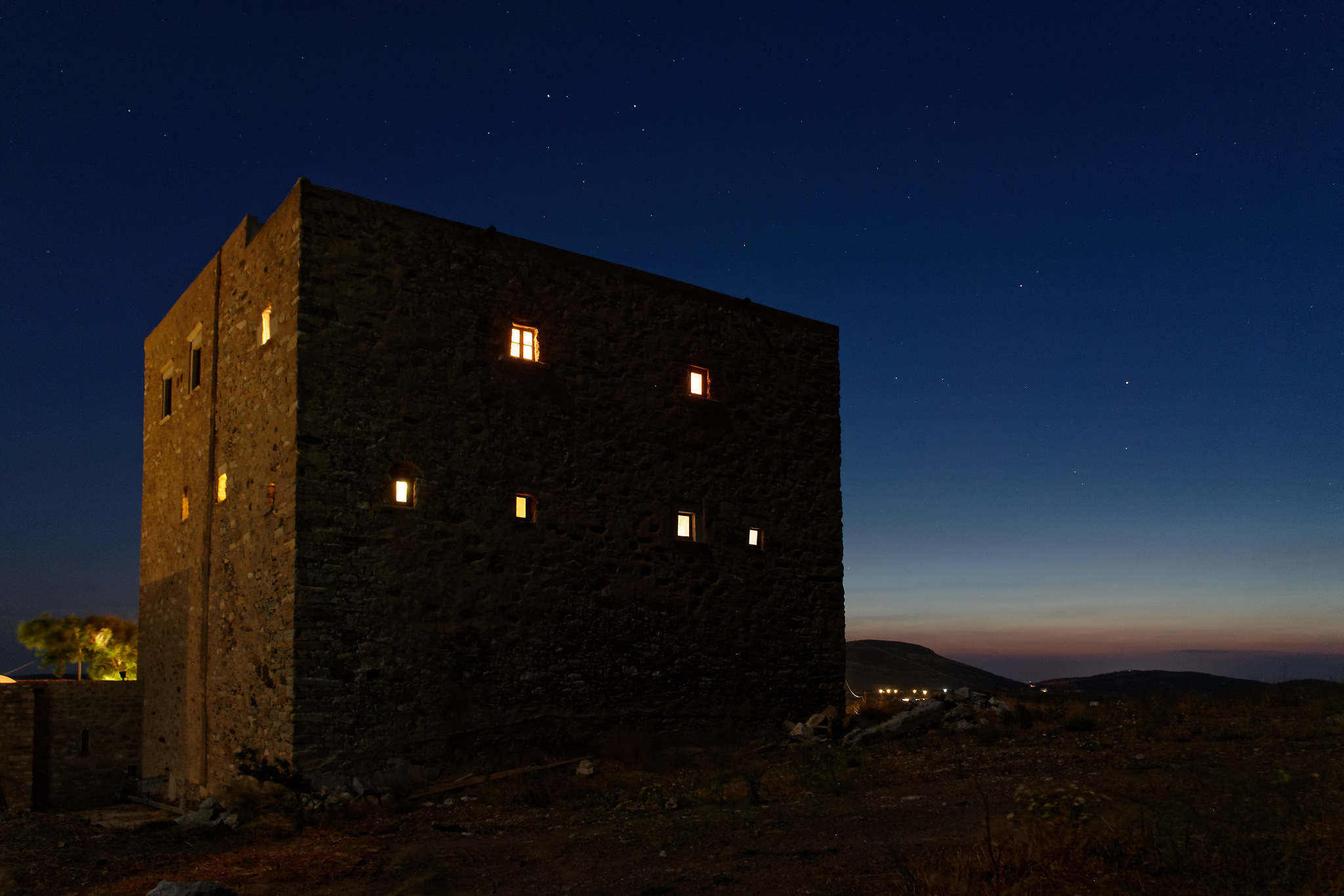 Bazeos Tower, Naxos, Greece ©DieterDU
