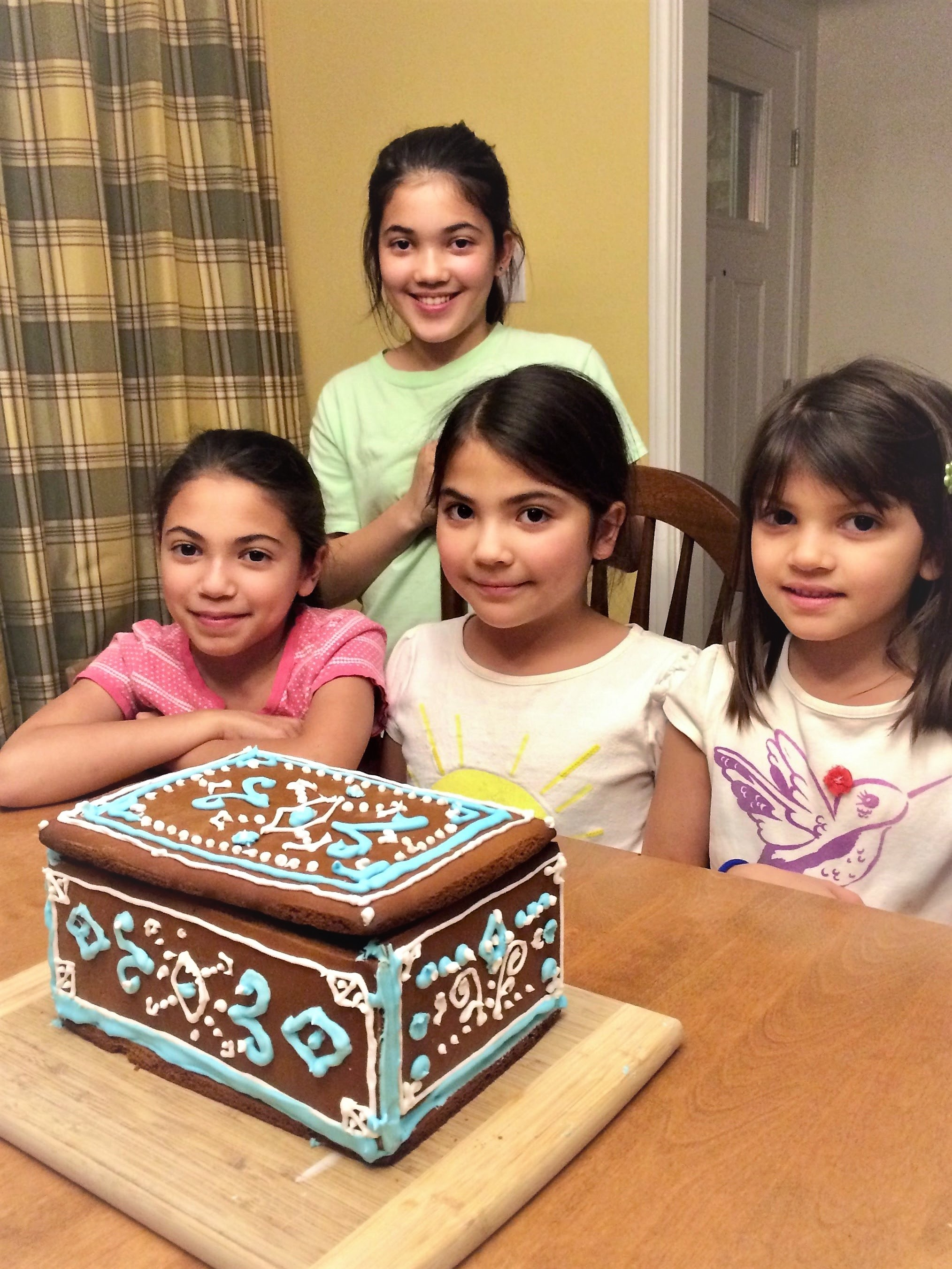 Blubaugh sisters gingerbread box.jpg