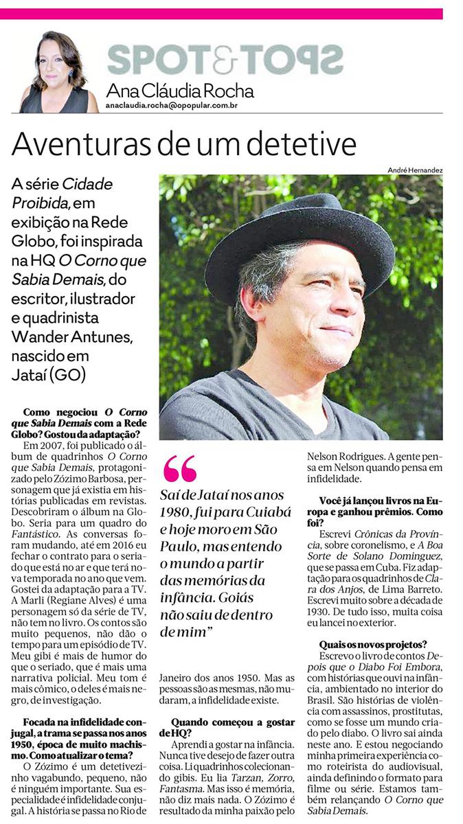 O Popular  Goiânia – 17/11/2017
