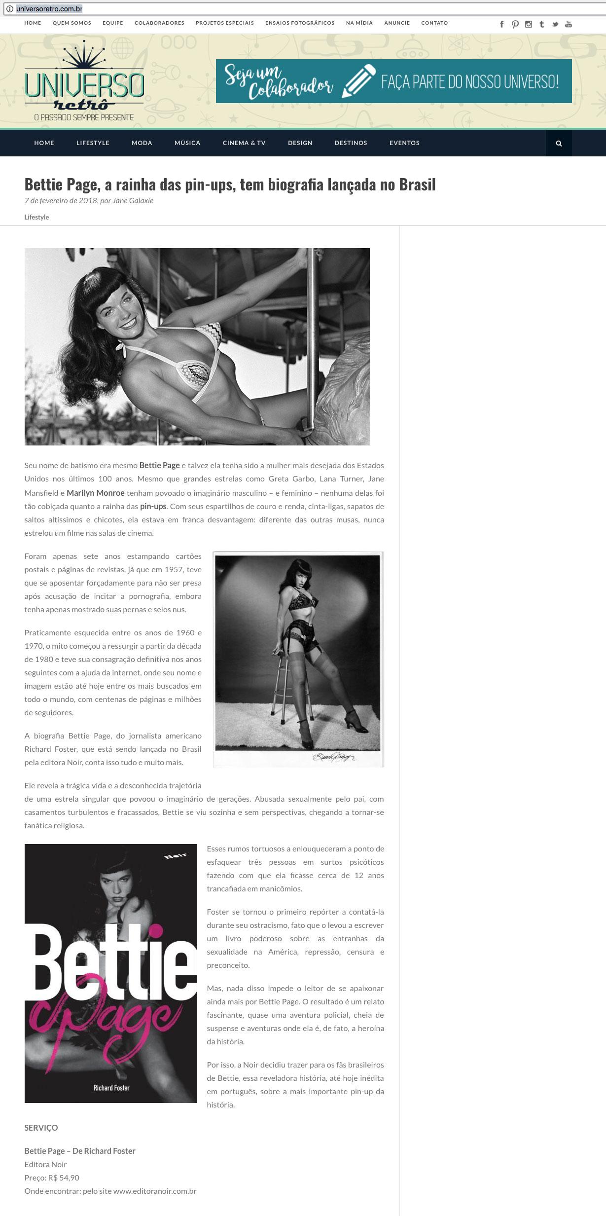 Universo Retrô  São Paulo – 7/2/2018