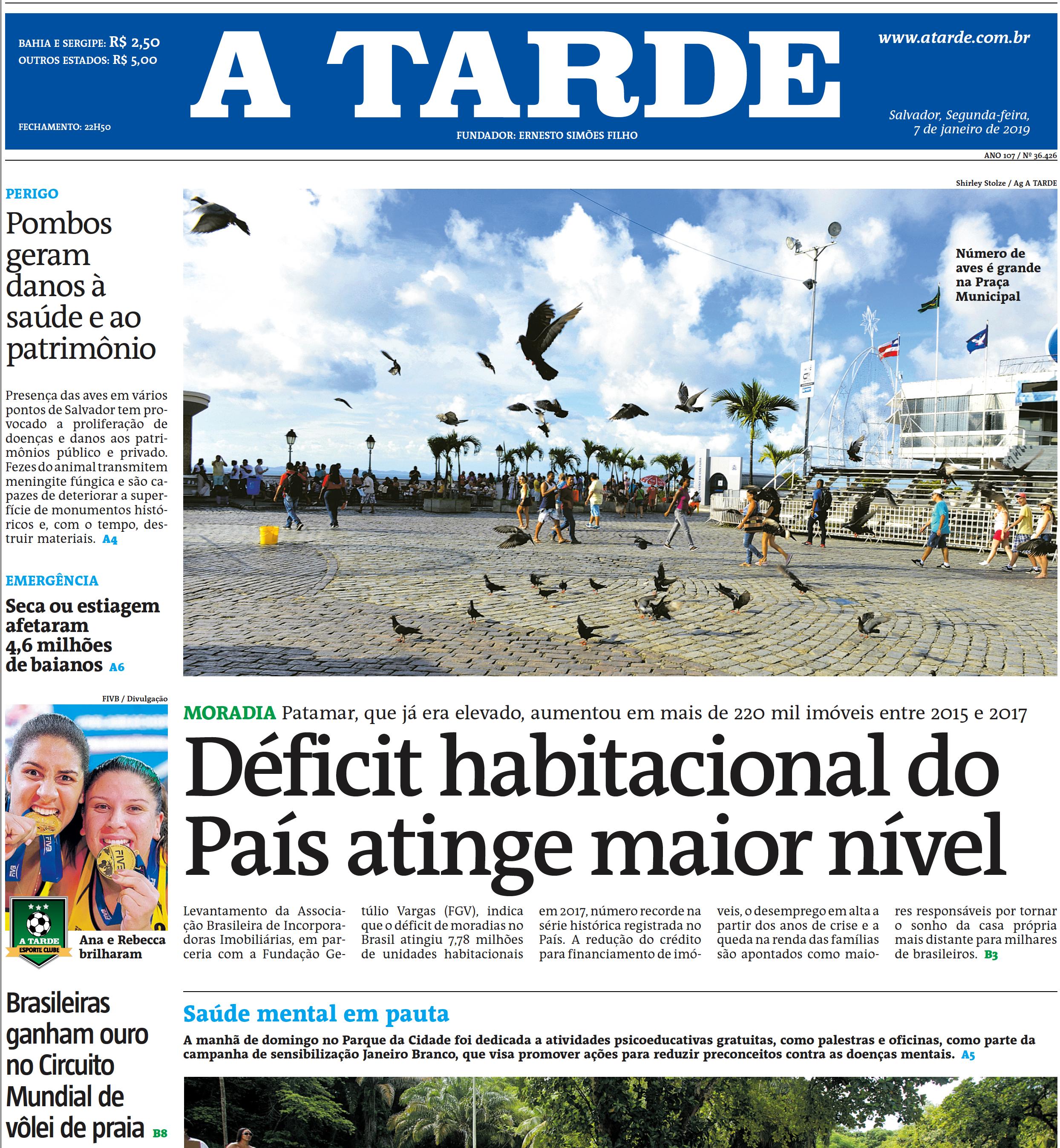 A Tarde  Salvador – 7/1/2019