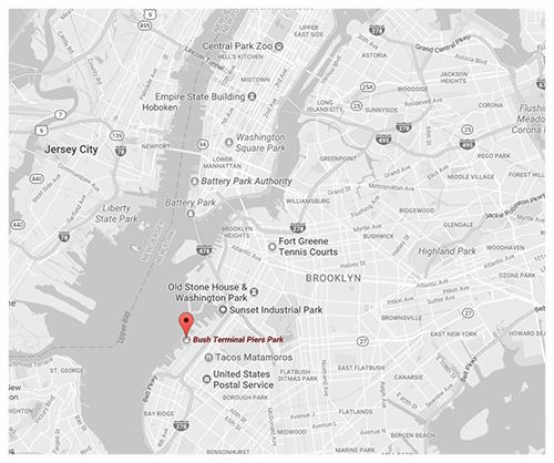 Click for Directions via Google Maps // Bush Terminal Piers Park, Brooklyn.