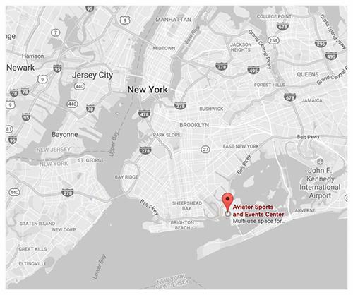 Click for Directions via Google Maps // Aviator Complex, Floyd Bennet Field, BK.