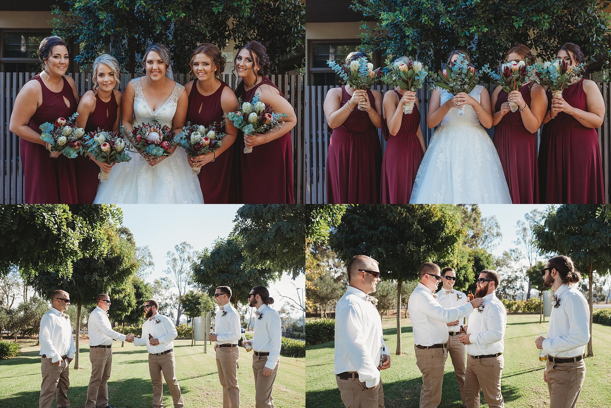 shepparton bridal party photographer