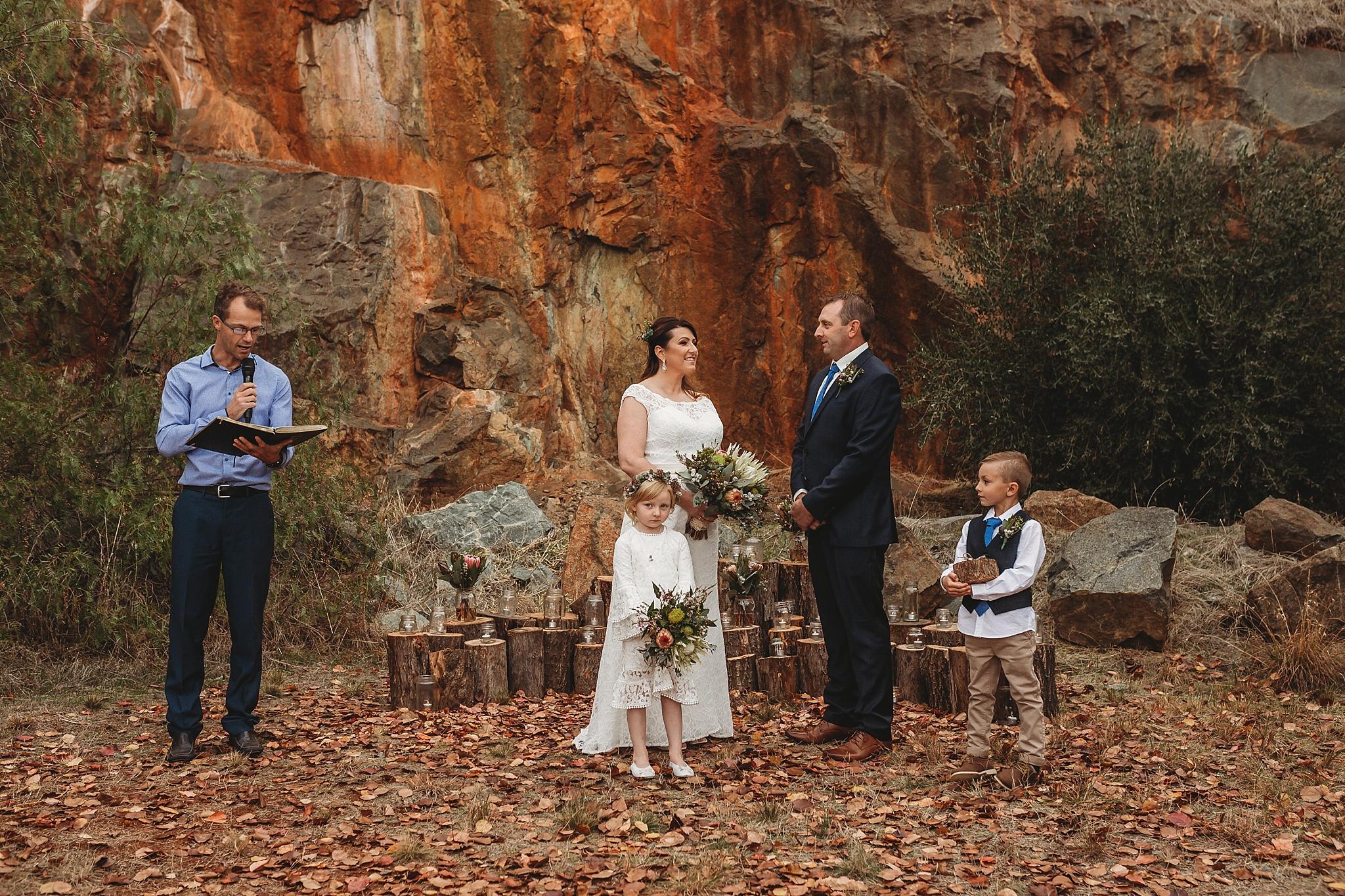 dookie quarry wedding