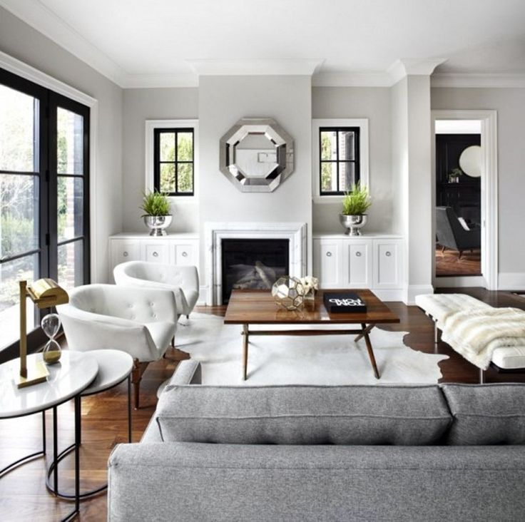 Accent Chairs Living Room - warm + green undertone