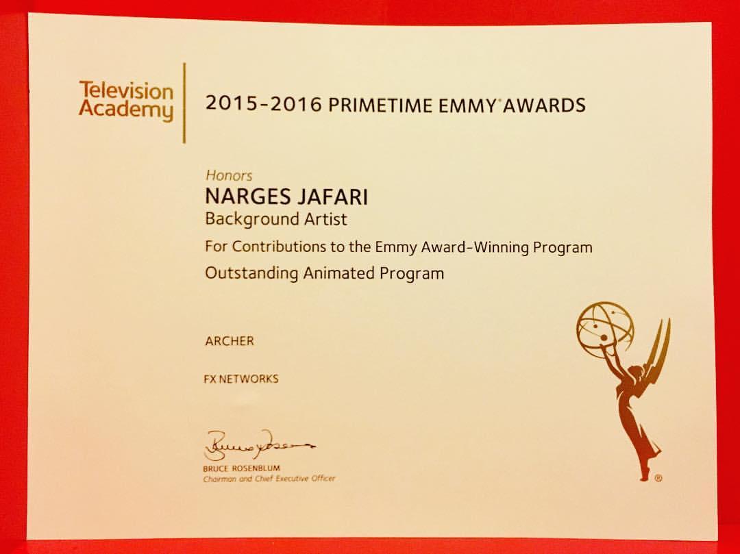 2016 Emmy Award