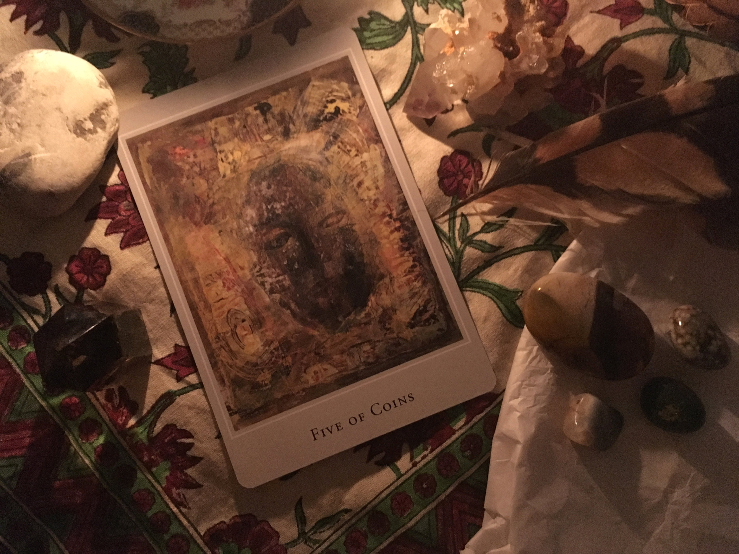 From the Margaret Peterson Tarot
