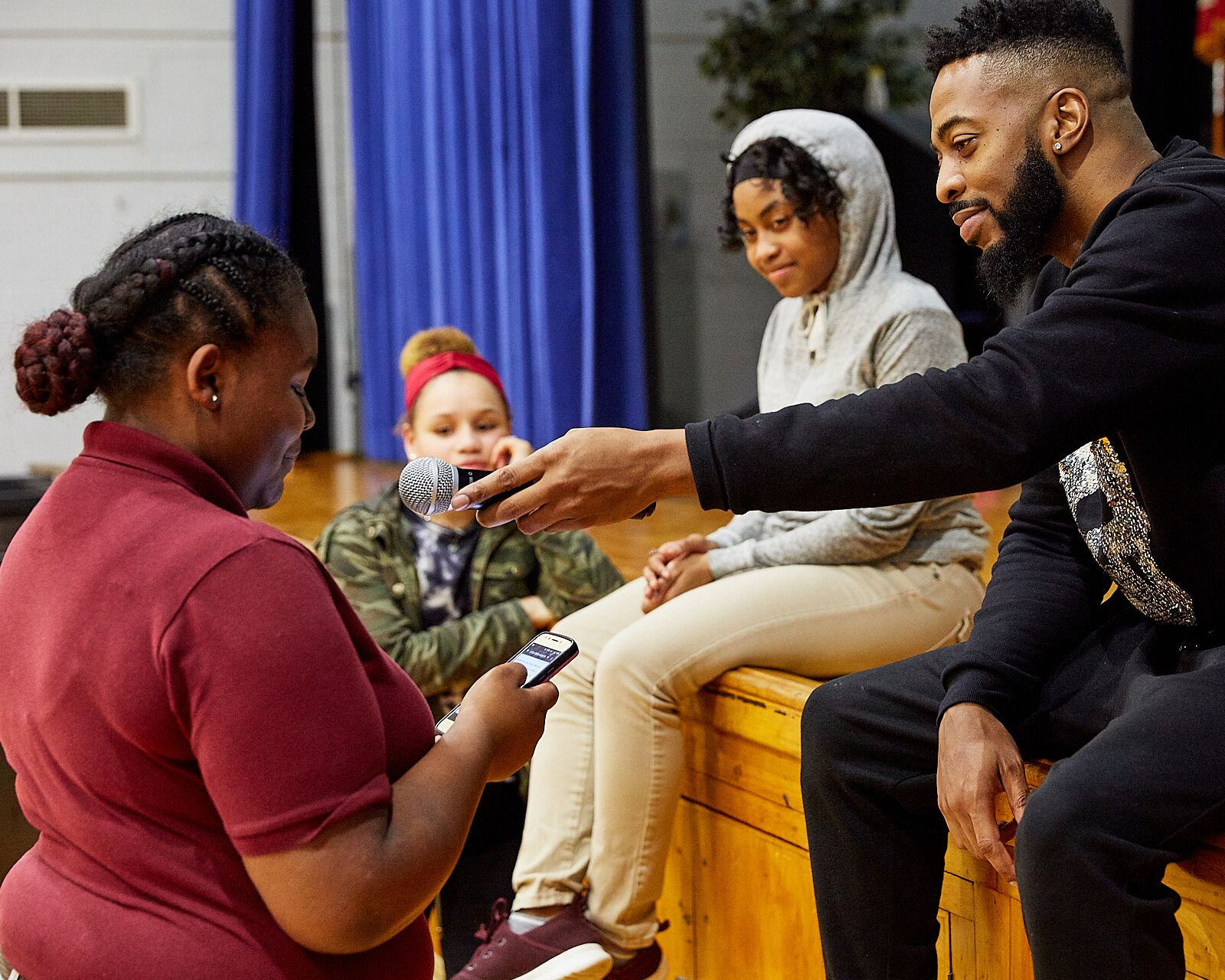 """For more information on Chester Education Foundation's programming please call 610-364-1212, or email  cef@chestereducation.org   To connect with Amillion, follow him on Instagram, Facebook, and SoundCloud: @AmillionThePoet  To learn more about """"Let's Get Ready"""" visit their website:  https://letsgetready.org/"""