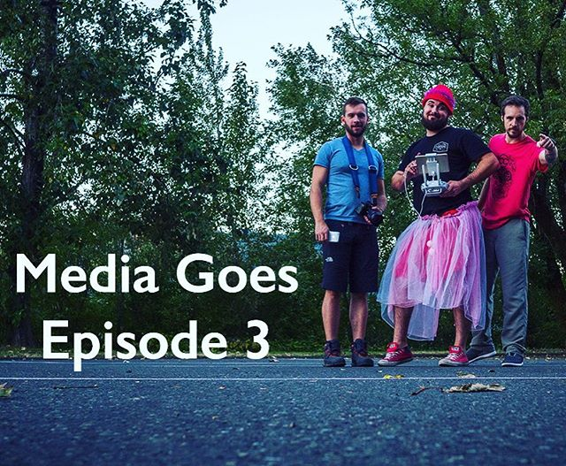Media Goes Episode 3: Portland - Find out why Pete is wearing a tutu and a granny hat, link in the bio! #mediagoes