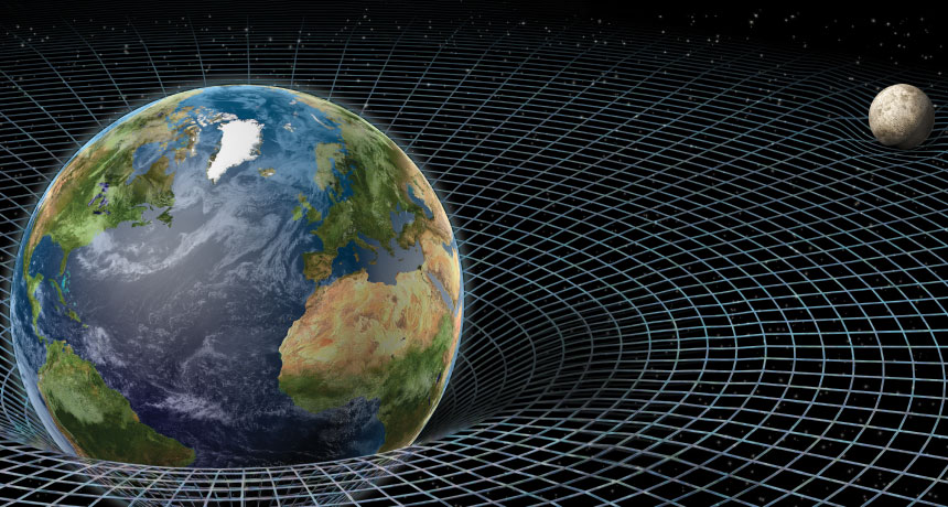 The orbit of the Moon around the Earth, and Earth around the Sun are patterns hinting at an underlying cause.