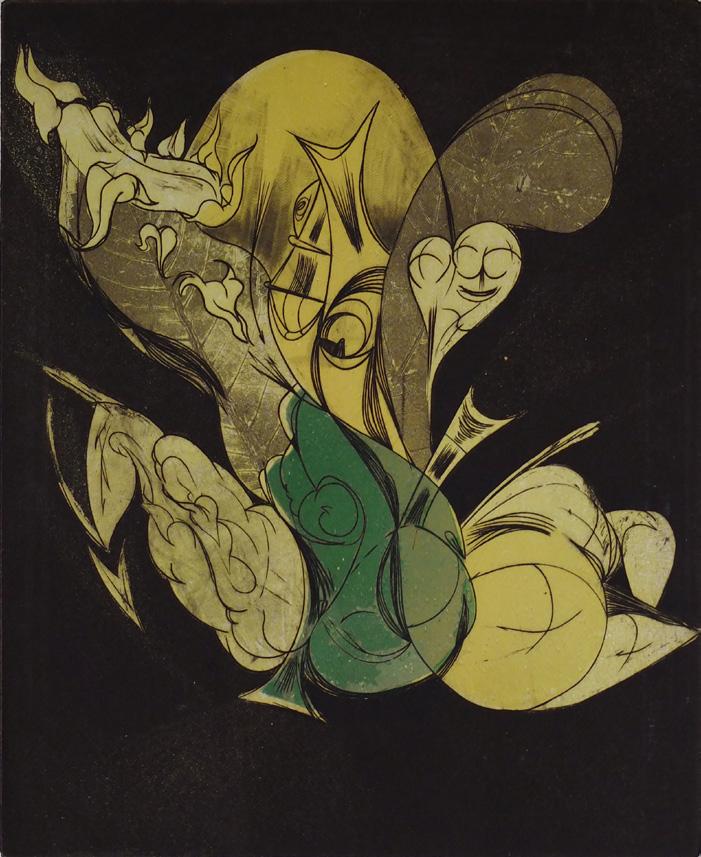 Anthropomorphic Figure. 1956.
