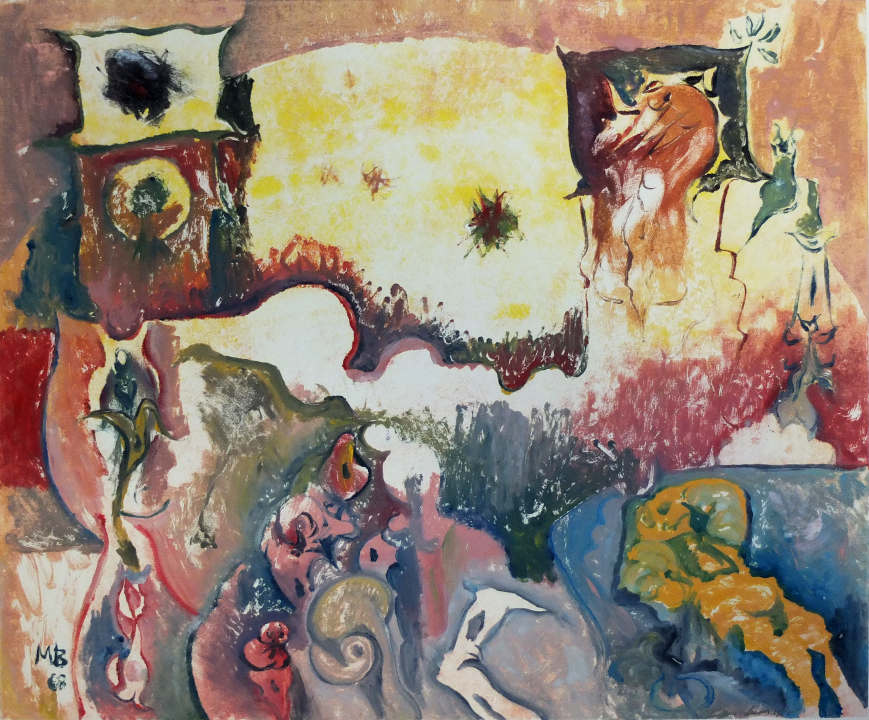 Landscape with Figures and Forms. 1968.