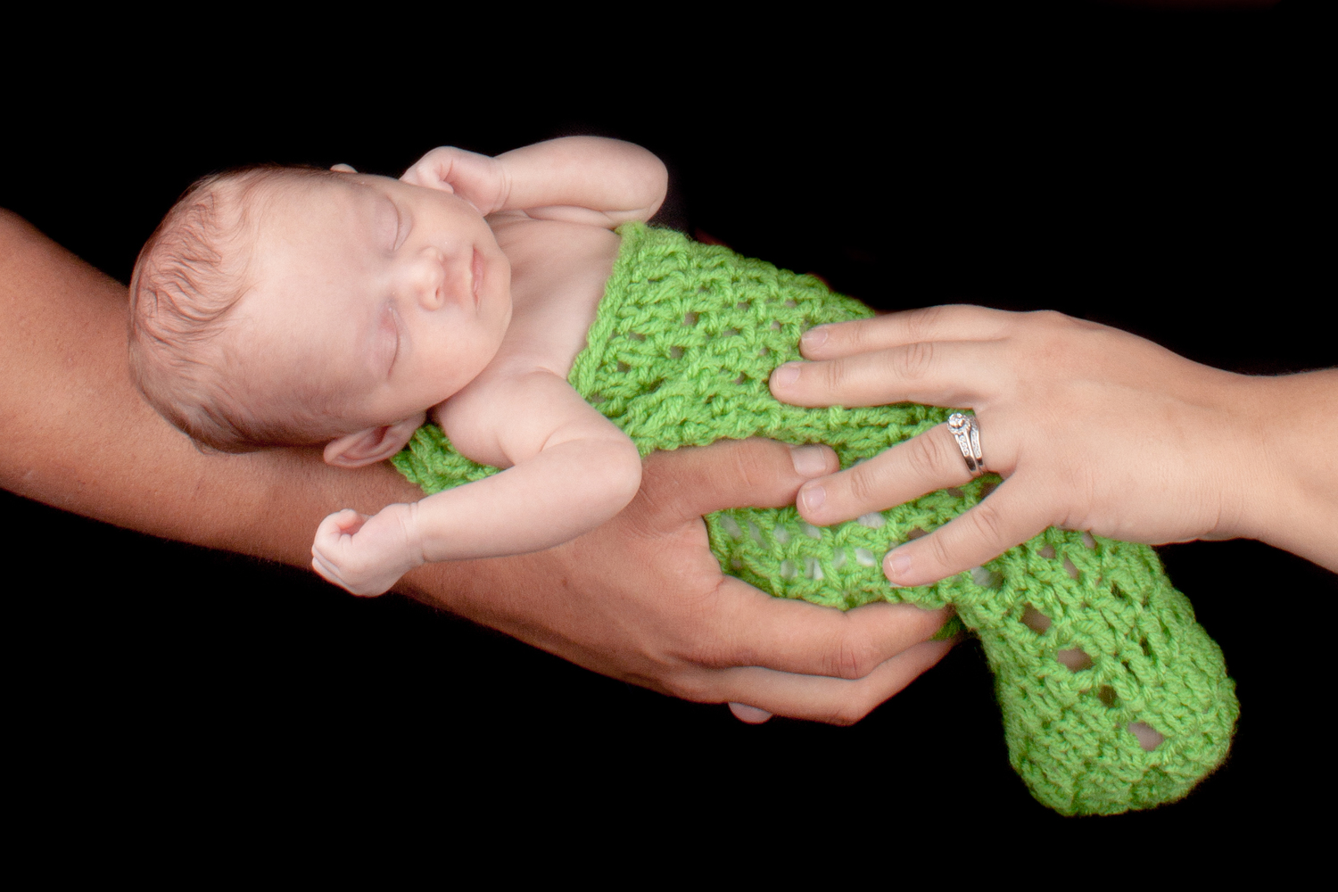 green bean newborn