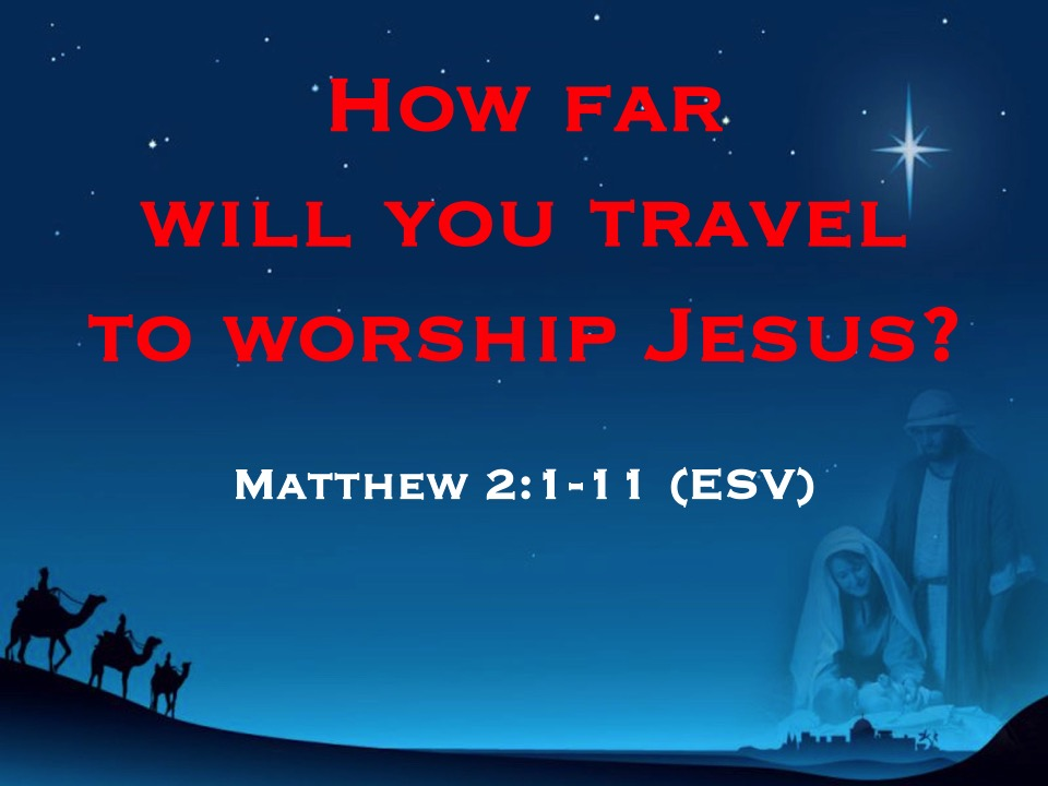 Matthew 2:1-11 — Sermon Feed — West Side Baptist