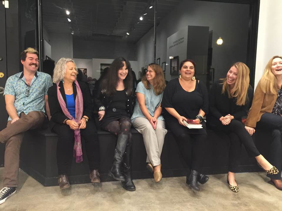 - L - R: Mike Gravagno, Robin Axworthy, Sarah Maclay, me, Armine Iknadossian, Kate Buckley, and Carrie Pohlhammer