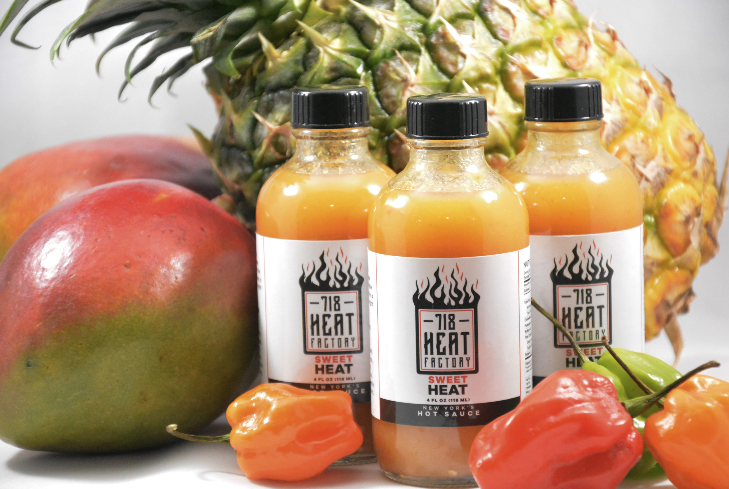 Bring The Heat - Our hot sauces are antioxidant rich, nutrient based, and hand made in a commercial kitchen in New York City by two native New Yorkers (representing Brooklyn and the Bronx). This unique collaboration is as original as the hot sauces themselves.