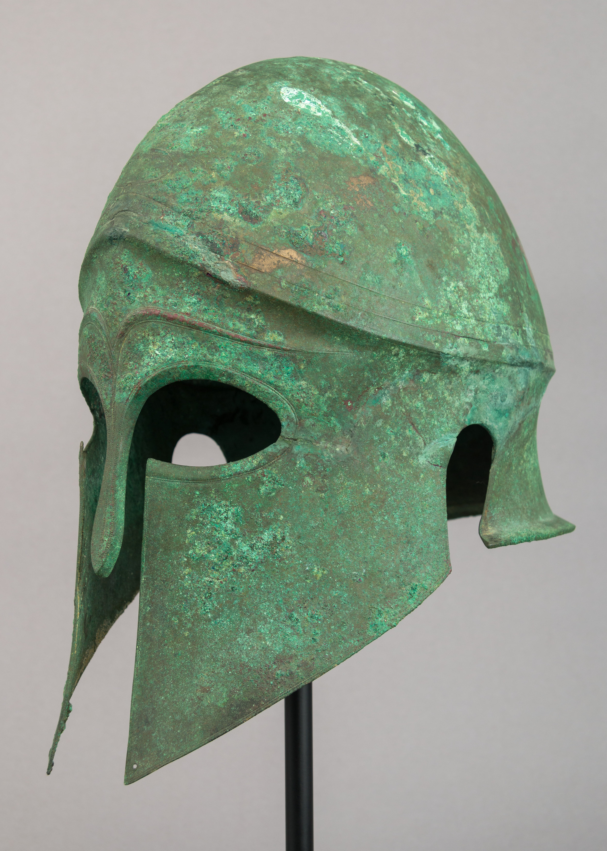 5th Century Bronze Corinthian Helmet - Metropolitan Museum