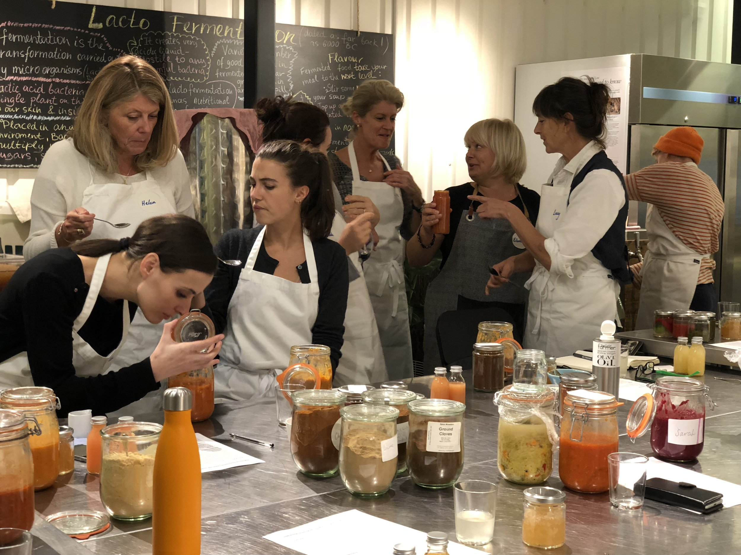 Fermentation workshop at LF