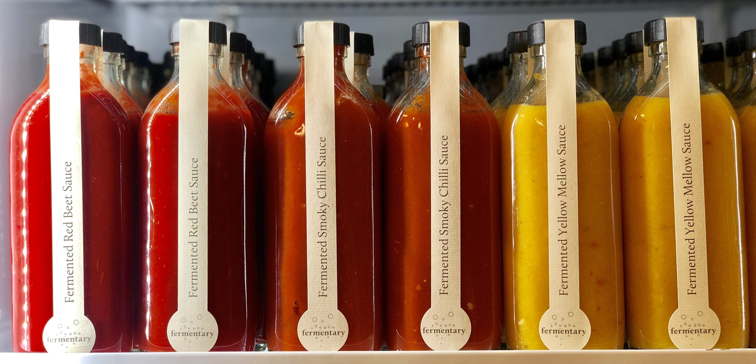 Fermented Sauces by LONDON FERMENTARY