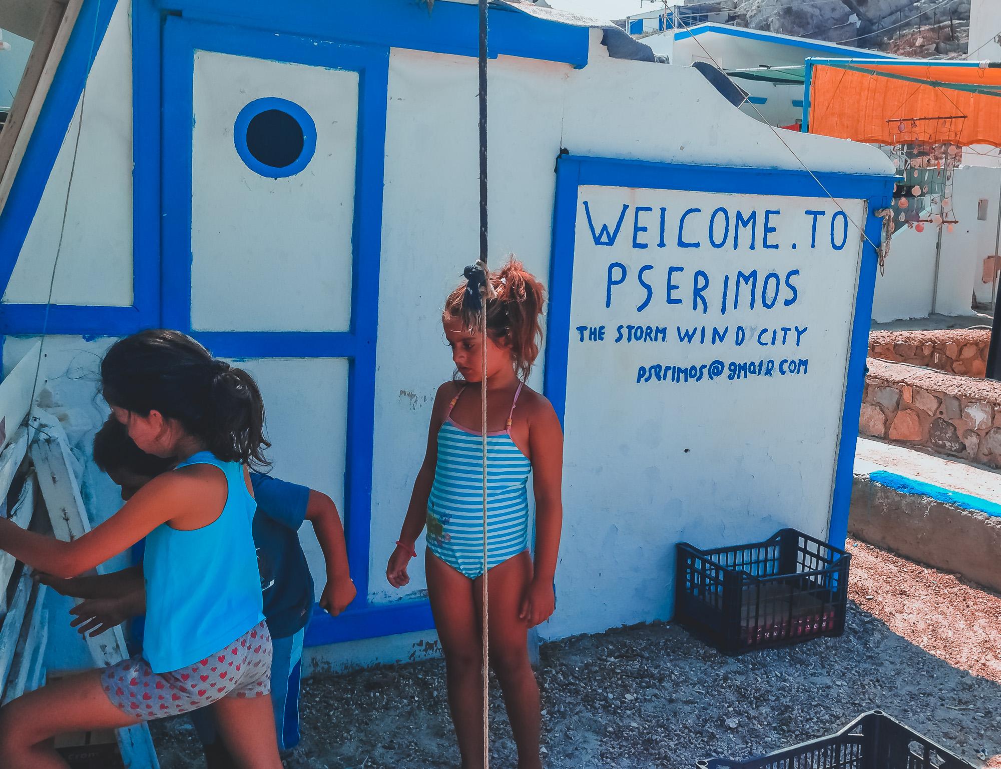 Διακοπές στον ελληνικό επίγειο παράδεισο - Ψέριμος ⌢ Δωδεκάνησα