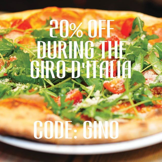 Sun's out, bike's out, it's the Giro D'Italia and now we're offering you 20% OFF everything online at tinpony.cc. Use code GINO at checkout. Offer ends midnight on 27 May. Link in biog! #sunsout #giroditalia #giroditalia2018 #discount #offer #cycling #cyclists #bikefan #bikes #cyclinglife #treat #bankholidayweekend