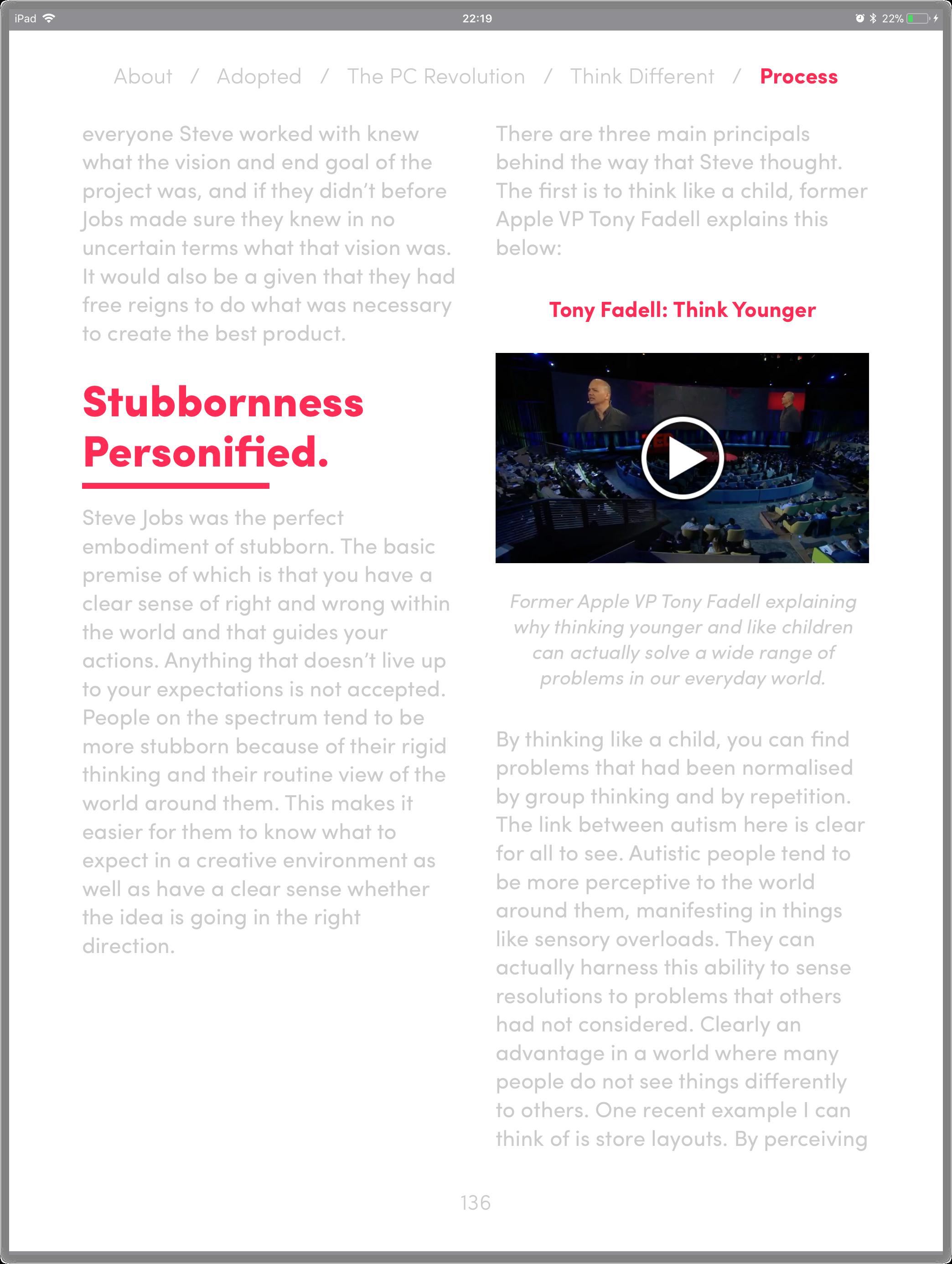 Videos Demo Screenshot